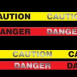 Electro Tape reflective caution and danger barricade tape